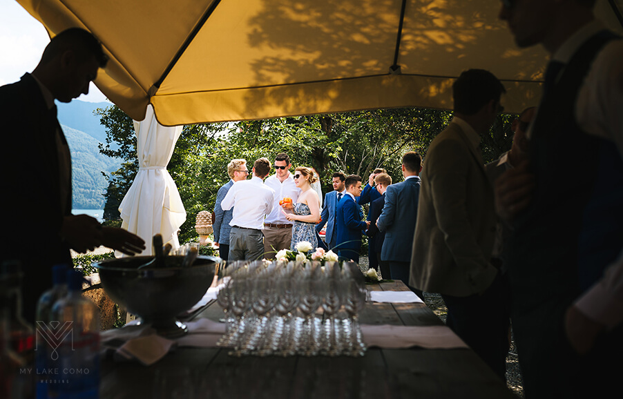 Villa-Teodolinda-aperitivo-terrace-Lake-Como-wedding-venue