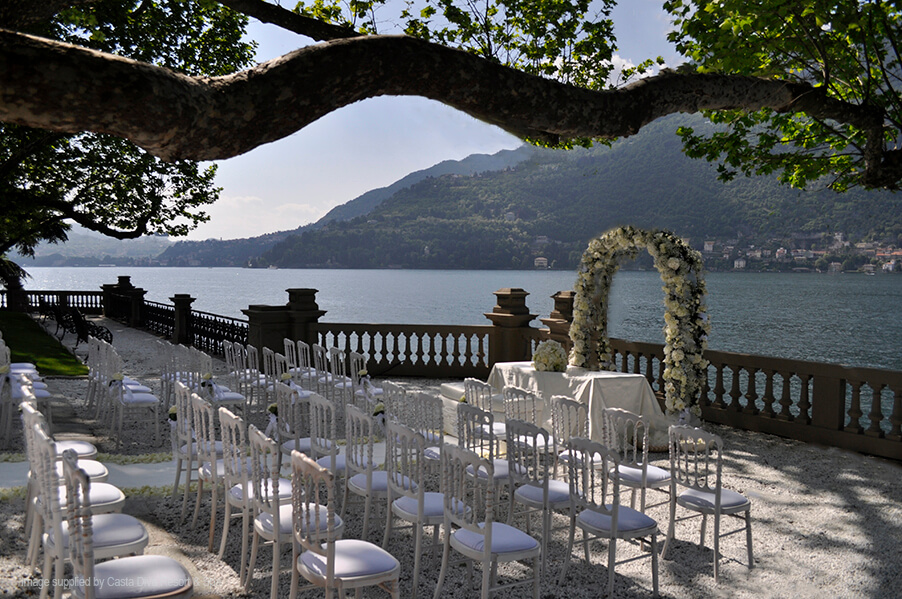 Casta diva resort luxurious lake como wedding villa venue - Casta diva como ...