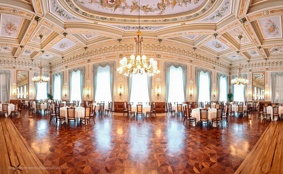 Grand-Hotel-Serbelloni-wedding-dining-room-Lake-Como-wedding-venue