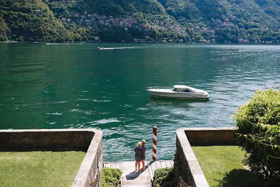 Bride-Bridesmaid-Villa-Teodolinda-Lake-Como-wedding-venue