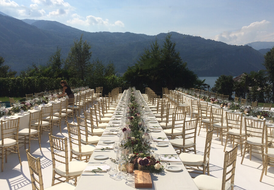 Lake-Como-wedding-reception-dinner-outside-in-front-of-the-lake-VIlla-Lario-My-Lake-Como-Wedding