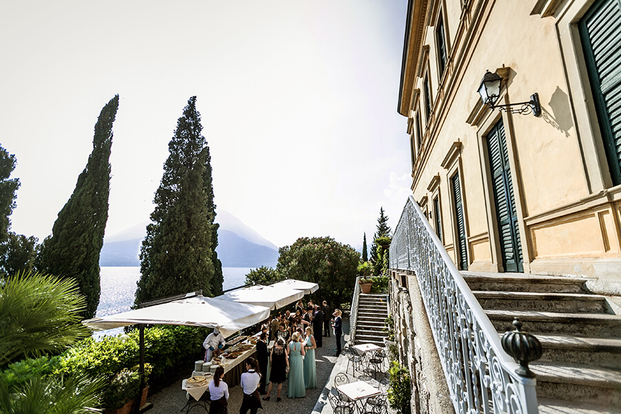 Villa-Cipressi-apreitivo-terrace-Lake-Como-wedding-venue
