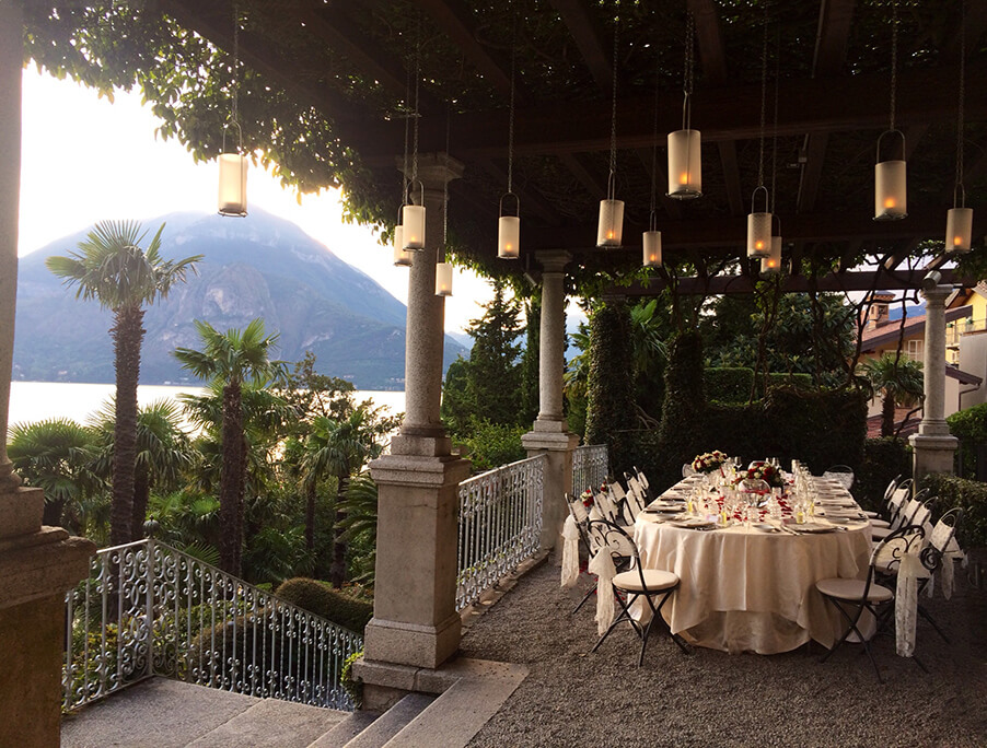 Villa-Cipressi-romantic-outdoor-reception-dinner-Lake-Como-wedding-venue