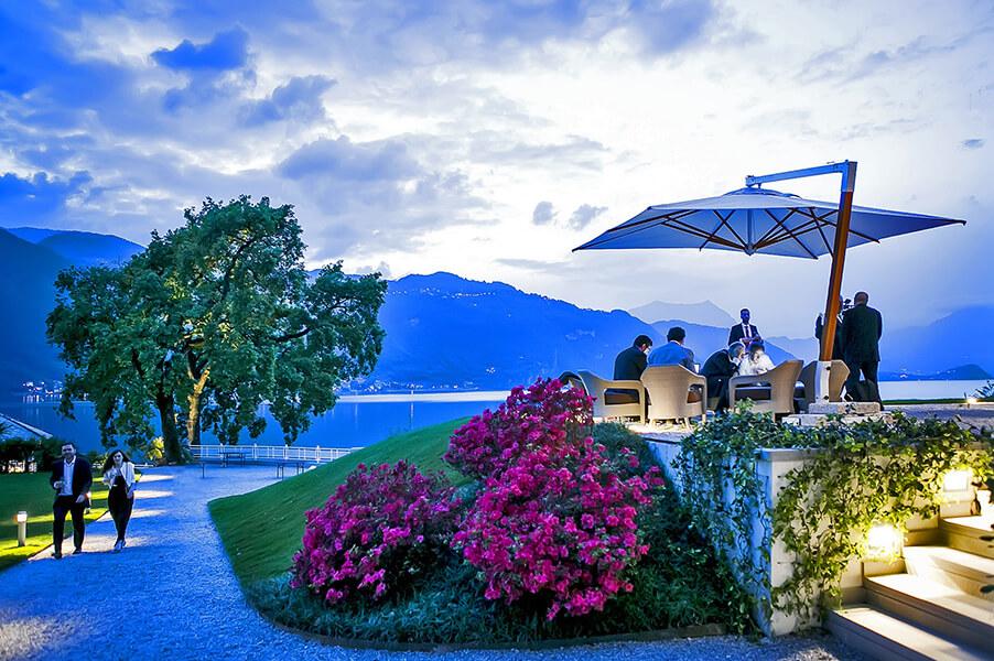 Villa-Lario-wedding-and-event-venue-terrace-lake-view