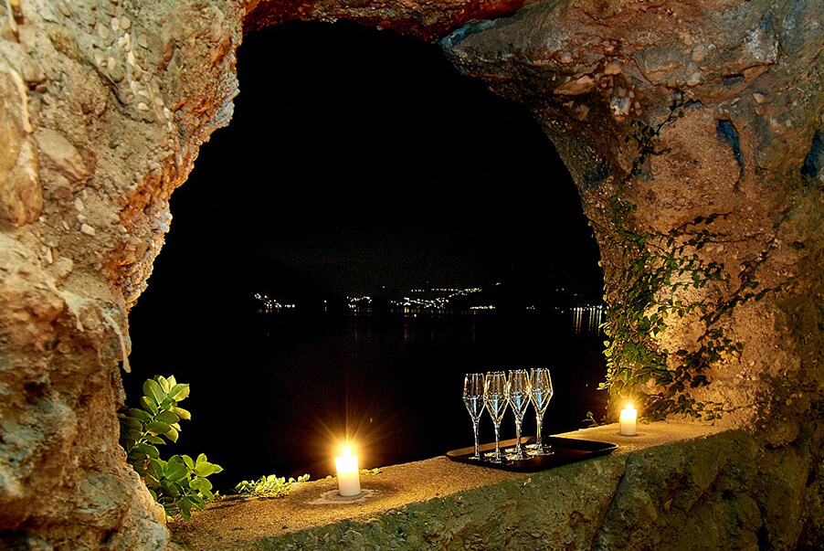 Villa-Lario-wedding-venue-cave-area-on-Lake-Como