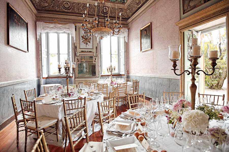 Villa-Pizzo-dining-room-Lake-Como-wedding-venue