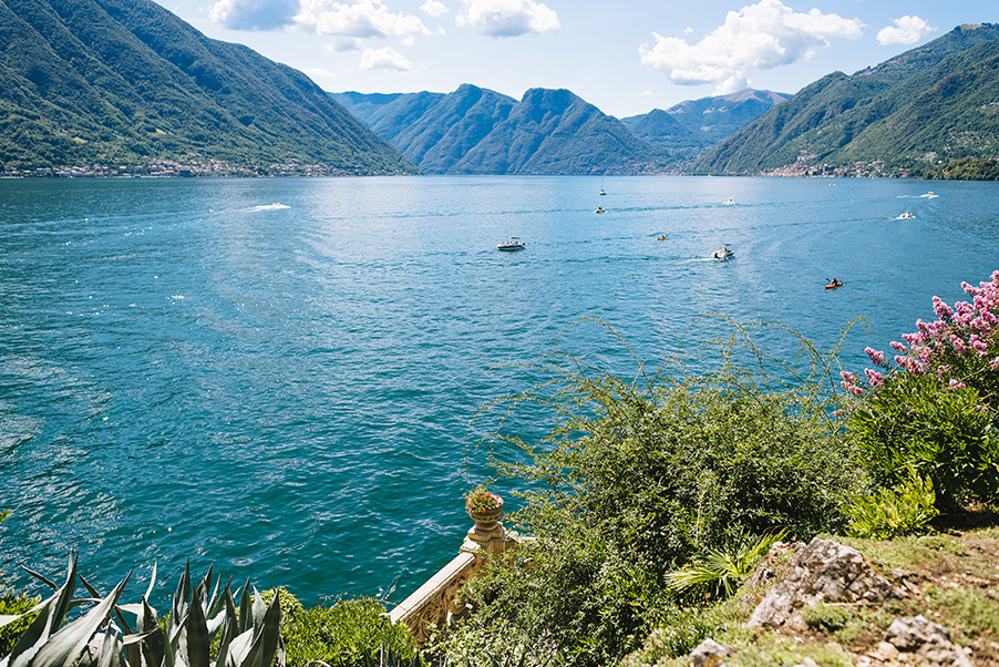 View-of-Lake-Como-from-Villa-Teodolinda-Lake-Como-wedding-venue