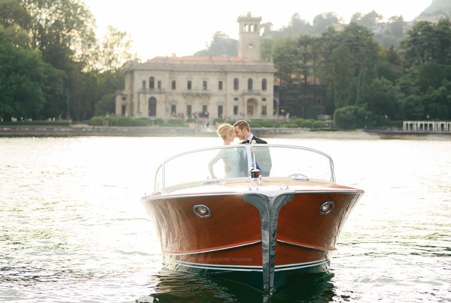 Riva-speed-boat-at-Villa-Erba-by-wedding-planner-My-Lake-Como-Wedding