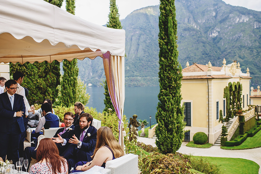 Villa-Balbianello-aperitivo-terrace-view-Lake-Como-wedding-venue
