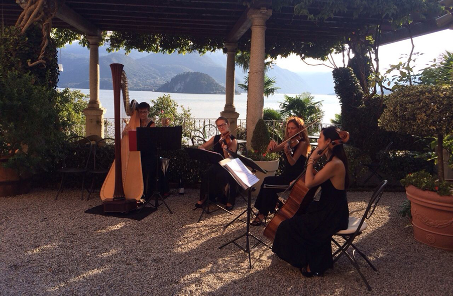 Villa-Cipressi-wedding-terrace-with-string-quartet-on-Lake-Como