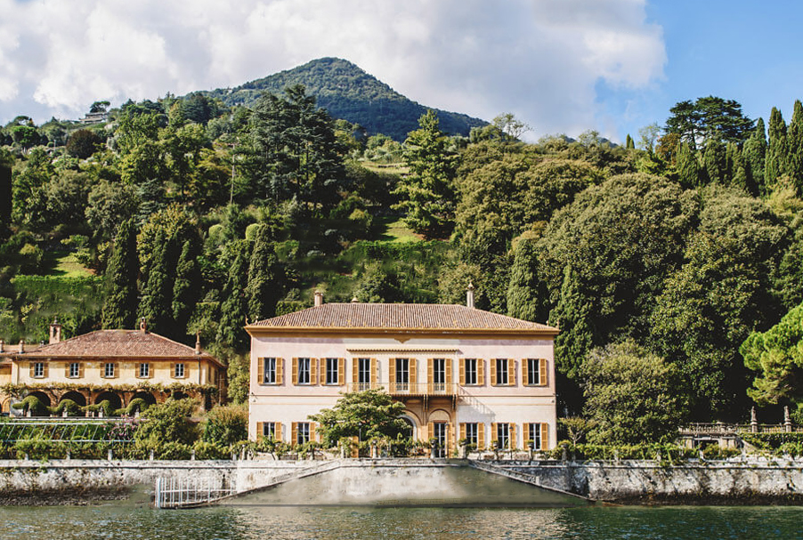 Villa Pizzo Lake Como wedding venue private traditional Italian ...