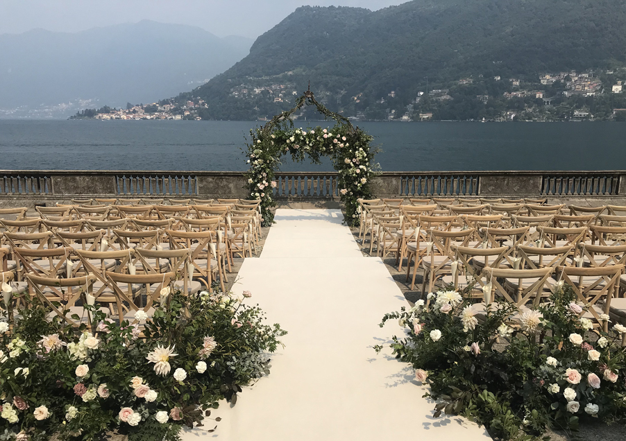 Villa-Pizzo-wedding-ceremony-terrace-Darsena-boat-house-by-My-Lake-Como-Wedding
