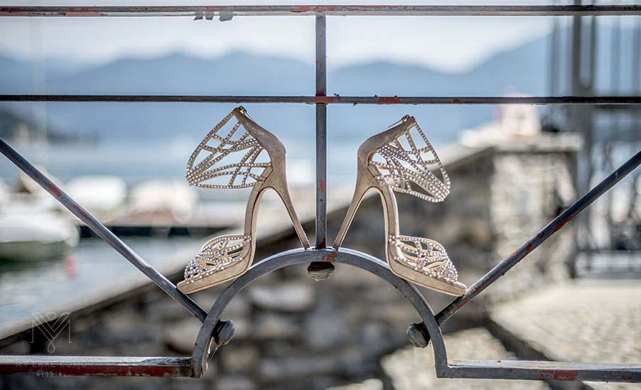 Bridal-shoes-on-the-balcony-at-Lake-Como-villa