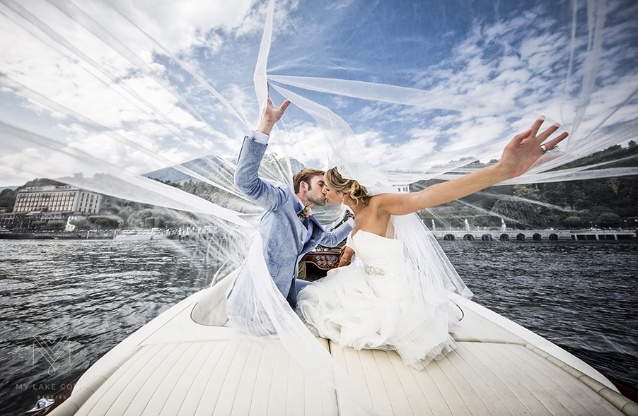 Bride-groom-photoshoot-Lake-Como-speed-boat