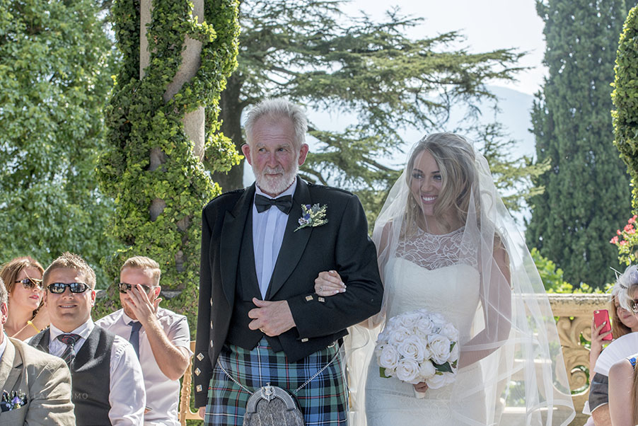 Bride-and-her-father-at-Villa-Balbianello-Lake-Como-wedding