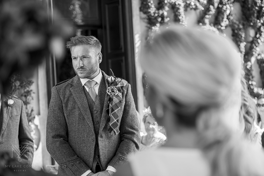 Lake-Como-Scottish-groom-at-Villa-Balbianello-wedding-ceremony