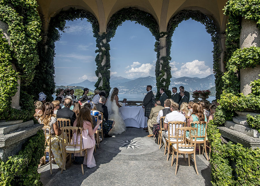 Bride-groom-at-wedding-ceremony-terrace-at-Villa-Balbianello