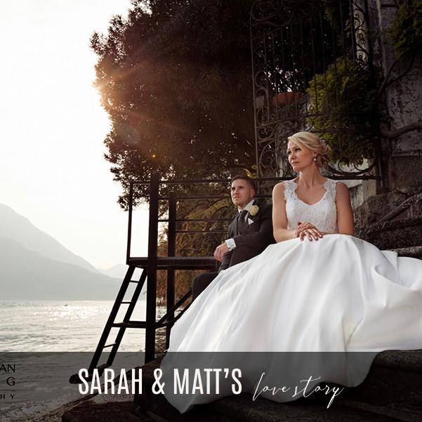 Bride-and-groom-on-the-lake-steps-at-Villa-Cipressi-Lake-Como