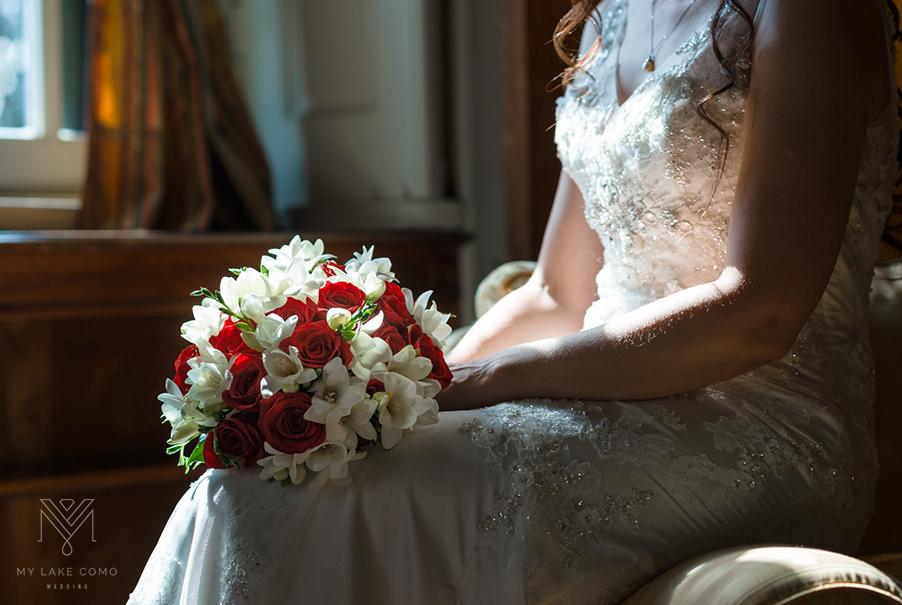 Brides-red-rose-bouquet-Lake-Como-wedding