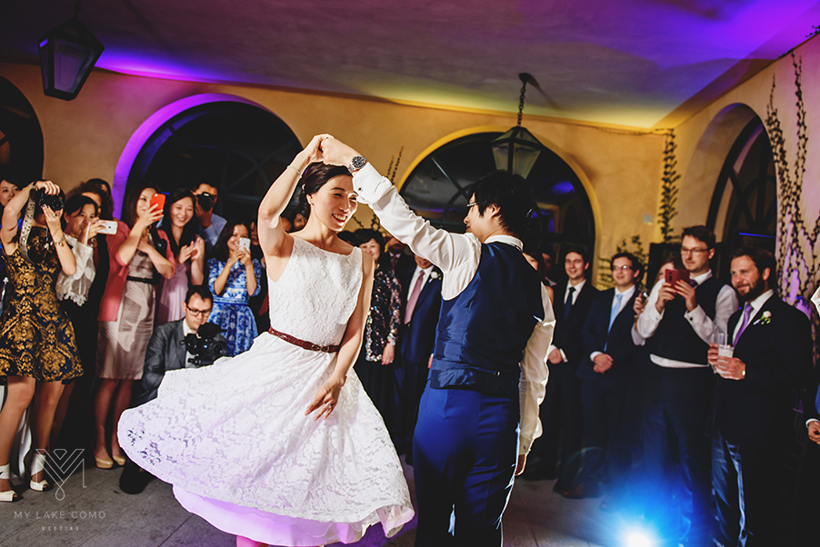 first-dance-at-Villa-Balbianello-wedding-on-Lake-Como