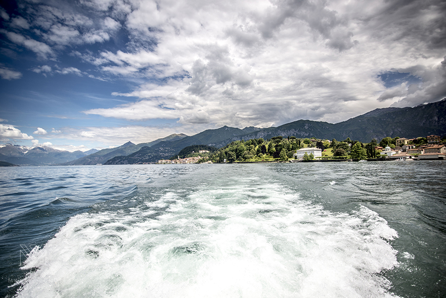 Lake-Como-view-with-mountains-from-water-taxi-boat