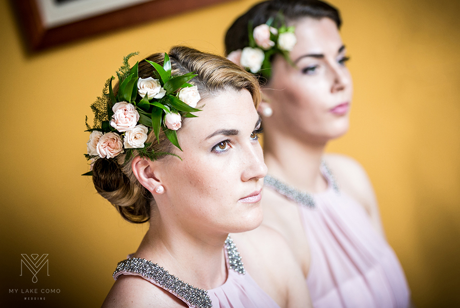 Lake-Como-wedding-bridesmaids-with-hair-flowers