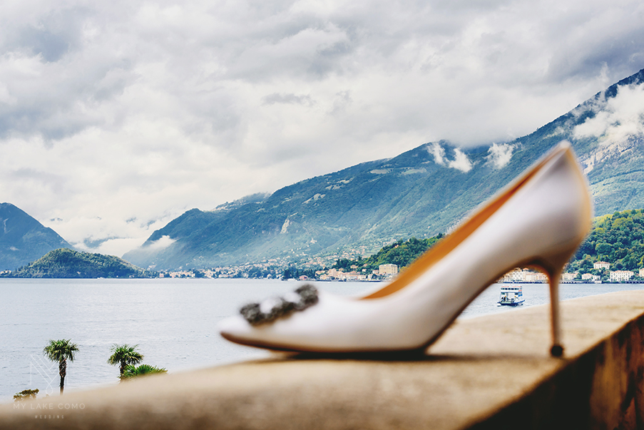 Wedding-shoe-on-Lake-Como-hotel-balcony