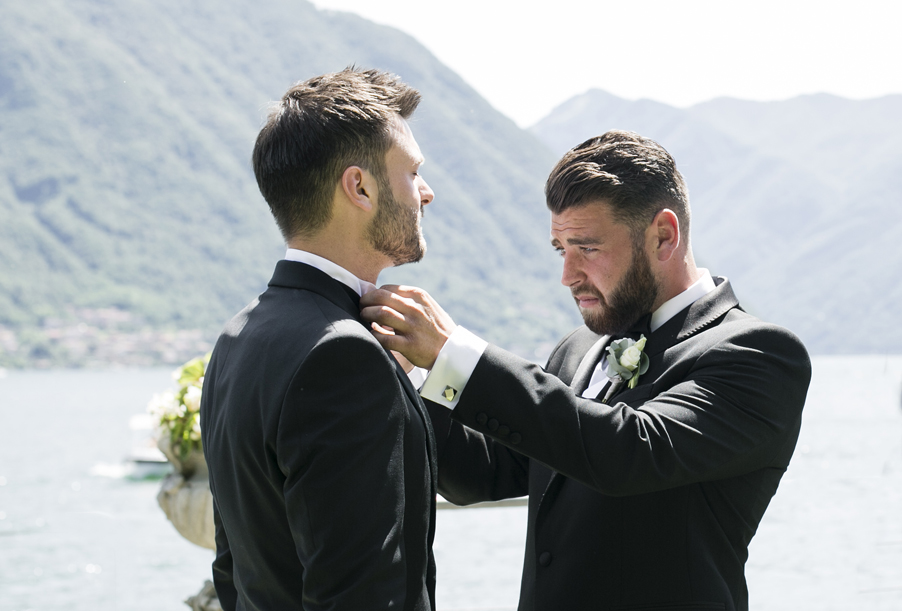Best-man-and-groom-at-wedding-on-Lake-Como-wedding-planner-My-Lake-Como-Wedding