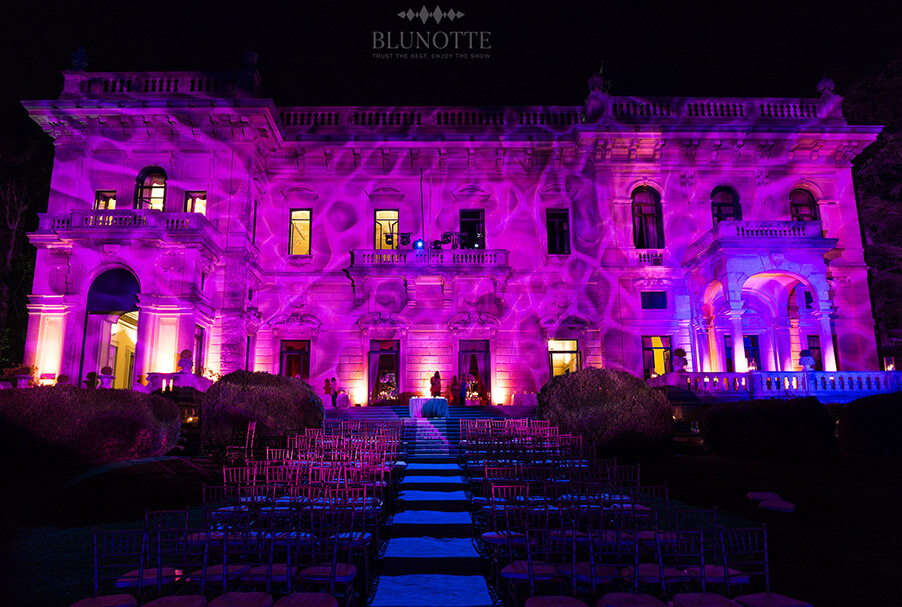 Italian Villa Outdoor Lighting Effects By Blunotte Now