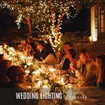 LAKE COMO WEDDING LIGHTING