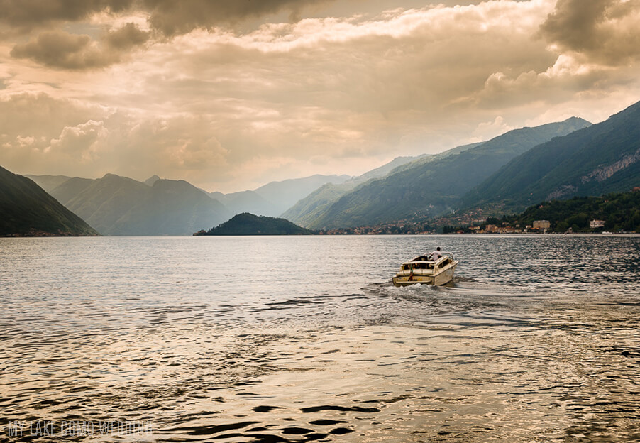 bridal-wedding-boat-on-lake-como-sunset-my-lake-como-wedding-taxi-boat