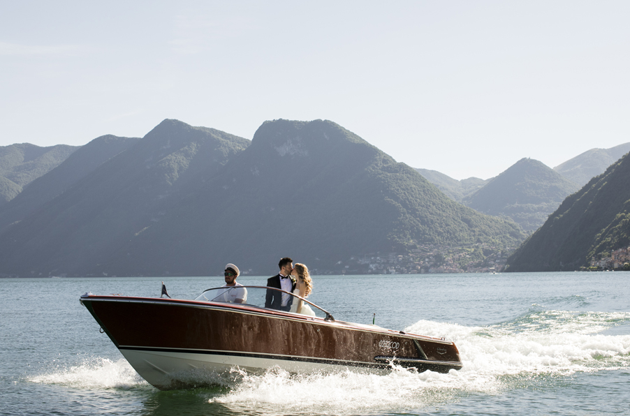 Colombo-speed-boat-for-weddings-on-Lake-Como-by-wedding-planner-My-Lake-Como-Wedding