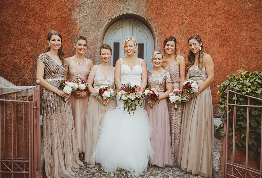 Bride-and-bridesmaids-at-Lake-Como-wedding-by-My-Lake-Como-Wedding