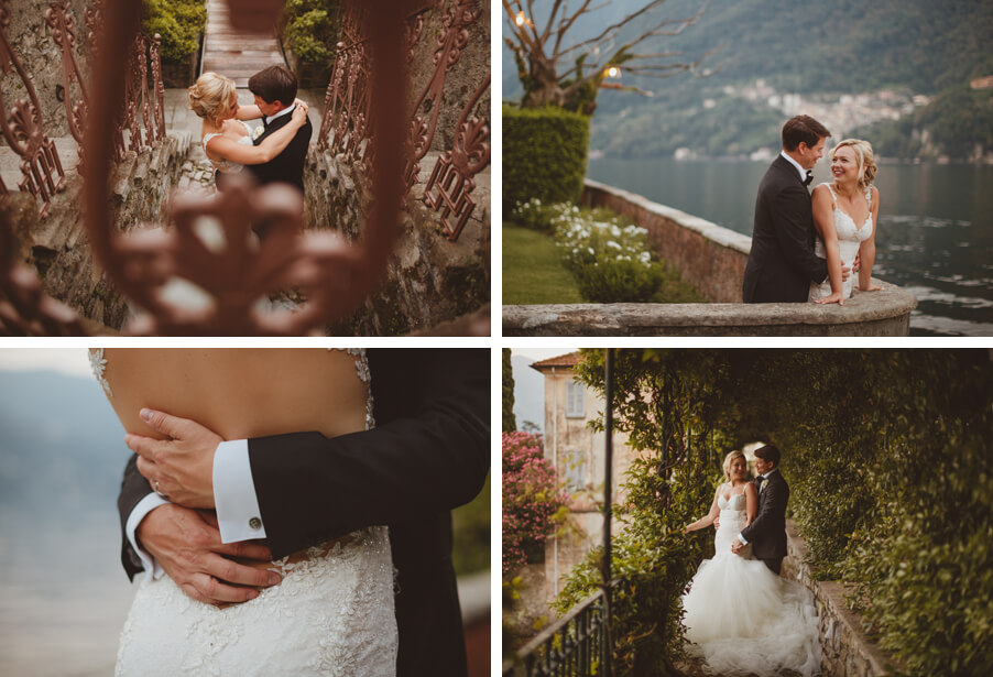 Lake-Como-wedding-showing-bride-and-groom-photoshoot-in-private-villa-wedding-planner-My-Lake-Como-Wedding