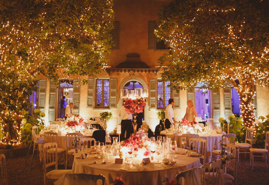My-Lake-Como-Wedding-romantic-candle-light-reception-outdoor-dining