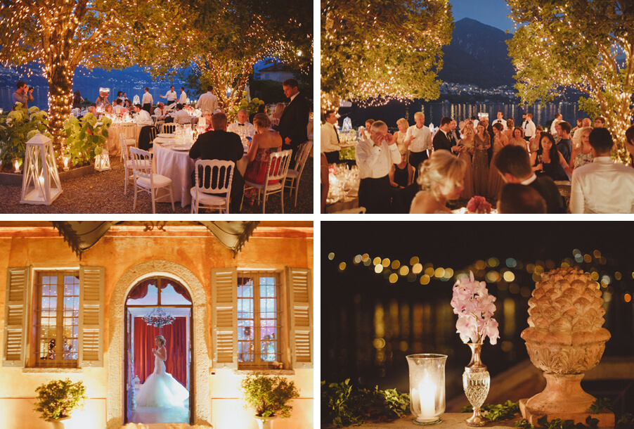 Romantic-outdoor-wedding-on-Lake-Como-with-candles-and-fairy-light-decoration