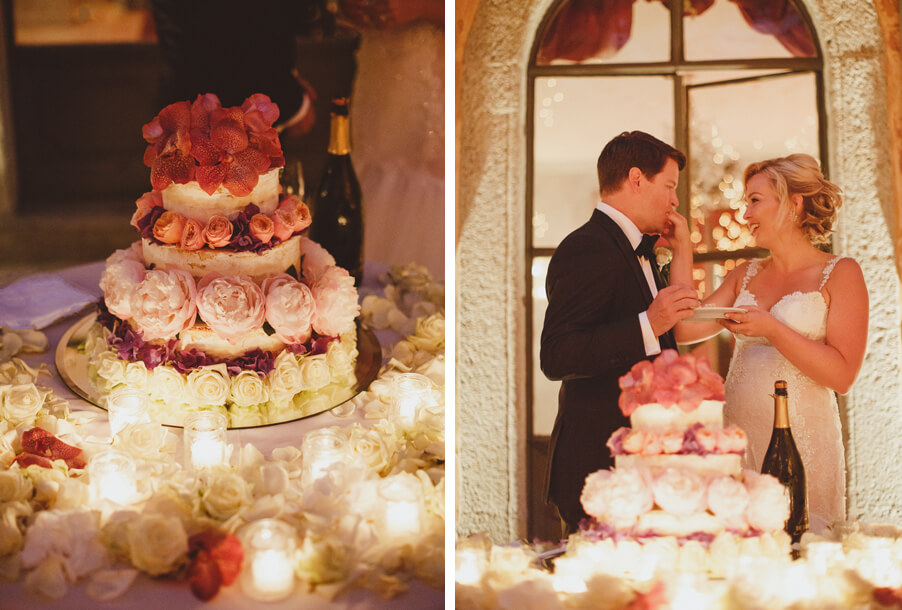 Wedding-cake-cutting-on-Lake-Como-with-bride-and-groom-by-My-Lake-Como-Wedding-wedding-planner