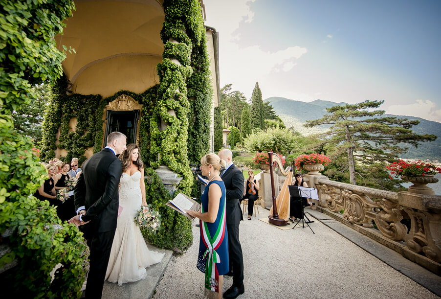 Villa-Balbianello-weddng-ceremony-terrace-with-bride-by-My-Lake-Como-Wedding