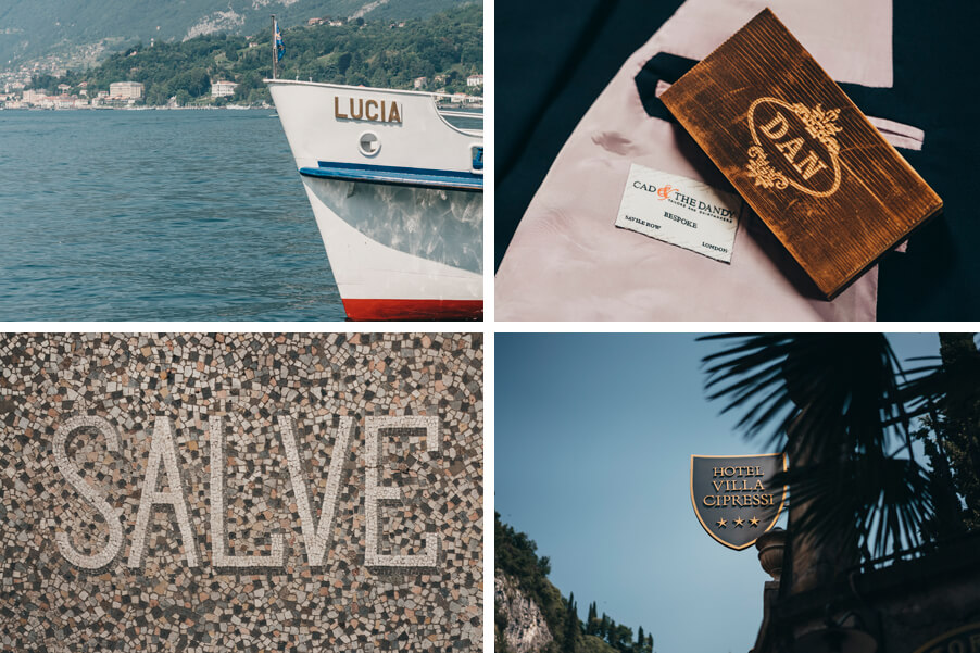 Four-images-showing-the-wedding-details-of-a-wedding-by-My-Lake-Como-Wedding-planner
