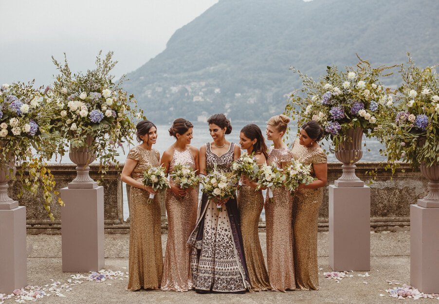Bride-and-bridesmaids-at-Villa-Pizzo-wedding-by-My-Lake-Como-Wedding