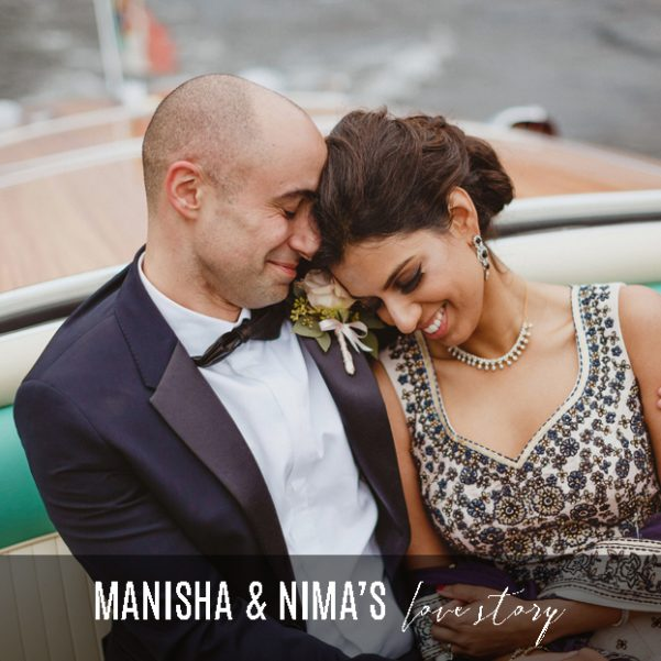 Bride-and-groom-in-love-on-Riva-speed-boat-on-Lake-Como