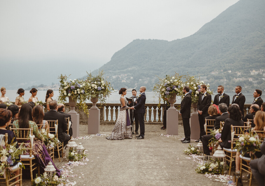 Ceremony-on-Lake-Como-at-Villa-Pizzo-in-front-on-the-lake-by-My-Lake-Como-Wedding-indian