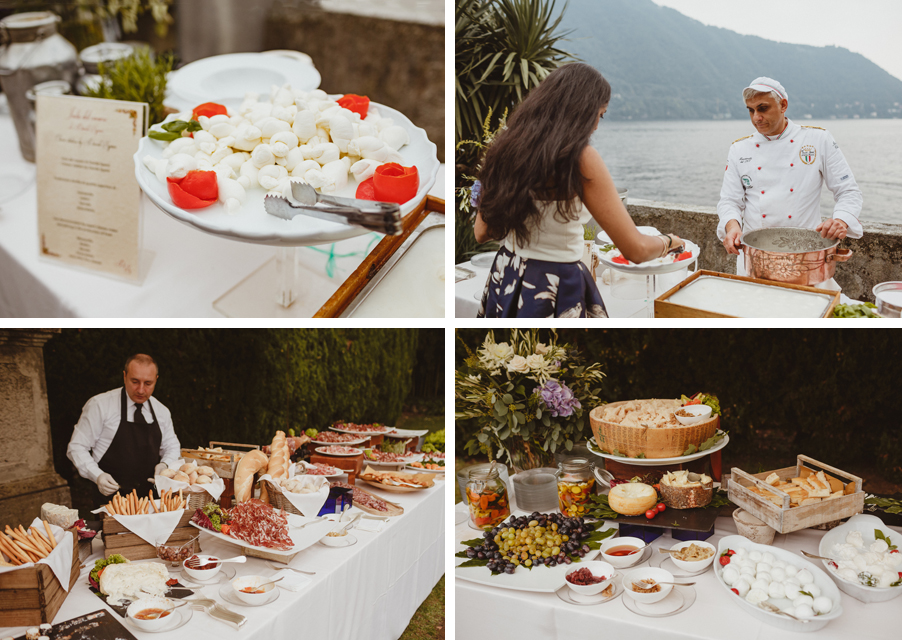 Lake-Como-wedding-aperitivo-food-at-Villa-Pizzo-by-My-Lake-Como-Wedding