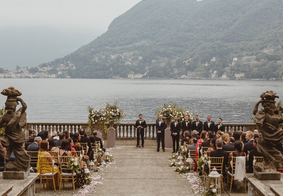 Lake-Como-wedding-ceremony-set-up-at-Villa-Pizzo-by-My-Lake-Como-Wedding-planner