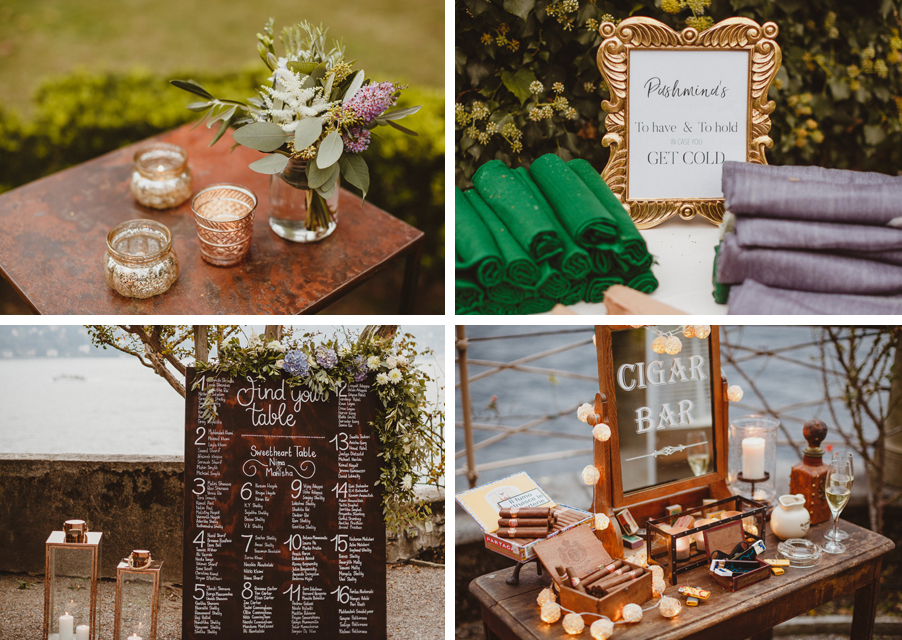 Wedding-day-details-table-plan-cigar-bar-and-flowers-by-My-Lake-Como-Wedding