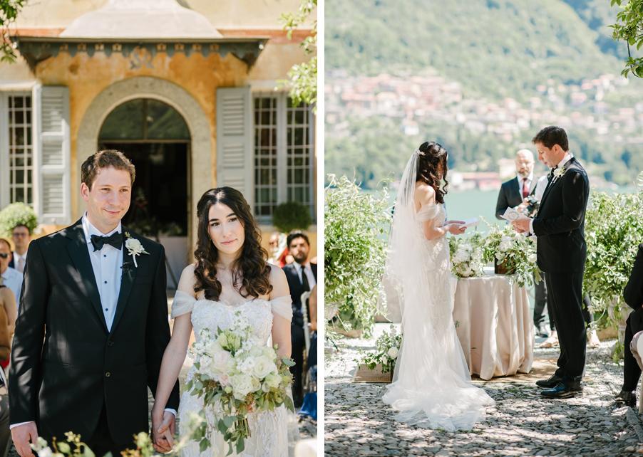 Bride-and-groom-at-their-Lake-Como-wedding-on-Lake-Como