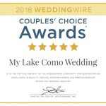 2018 WEDDINGWIRE AWARD RECEIVED