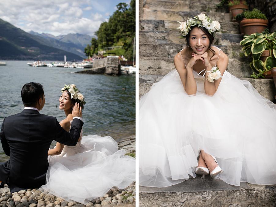 Bride-and-groom-in-Varenna-Lake-Como-wedding-planner-My-Lake-Como-Wedding