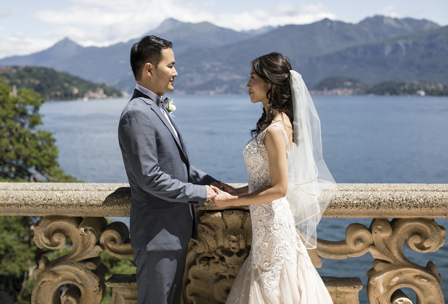 Bride-and-groom-wedding-day-elopement-on-Lake-Como-by-wedding-planner-My-Lake-Como-Wedding