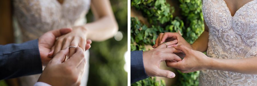 Exchange-of-wedding-rings-at-Villa-Balbianello